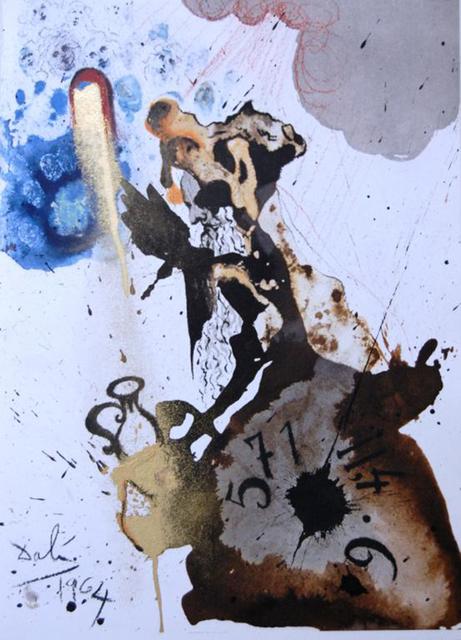 Salvador Dalí, 'Mene, Tekel, Parsin', 1967, Baterbys