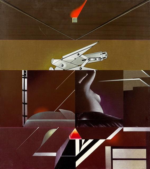 Sergio Sarri, 'Interno (studio per l'inumano)', 1988, Finarte