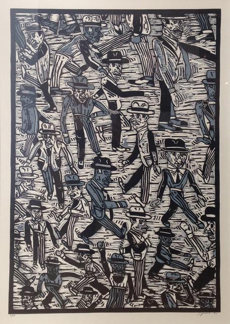 , 'Gente en la calle I,' 1991, Opera Gallery