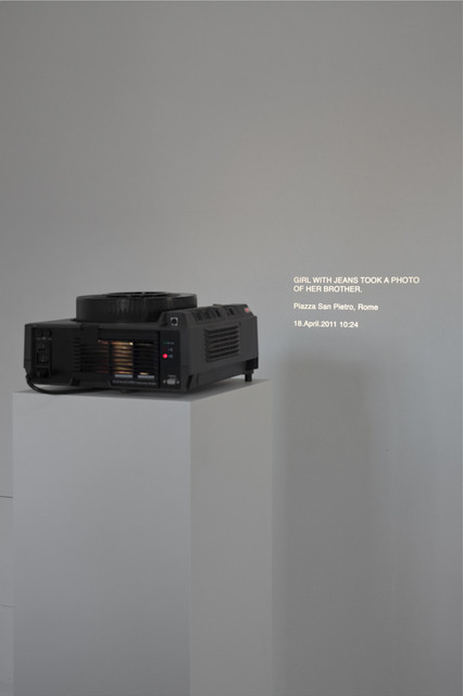 , 'The Risk of Being in Public,' 2011, Galeri NON