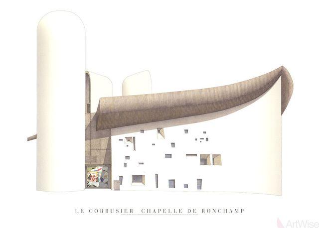 , 'Chapelle de Ronchamp,' (Date unknown), ArtWise