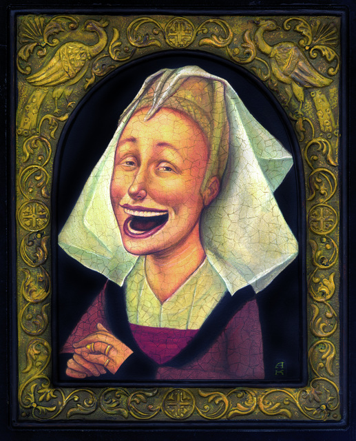 , 'The Happy Nun,' , Ro2 Art