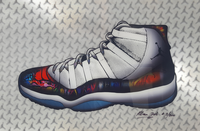 , 'Air Jordan 11 Concord,' 2016, Madelyn Jordon Fine Art