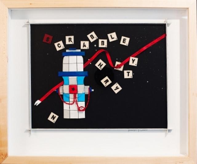 Katharine Owens, 'Scrabble Hydrant - Blue ', 2012, Zenith Gallery