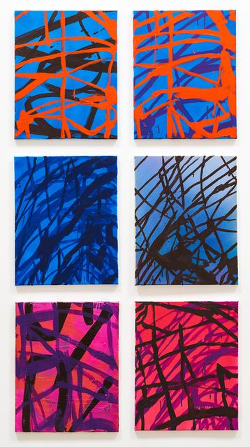 , '6 Untitled Paintings,' 2016, Rosamund Felsen Gallery
