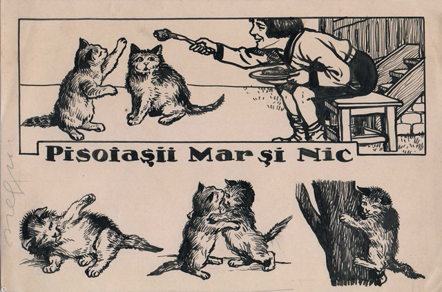 , 'Pisoiasii Mar si Nic,' 1922-1927, Nasui Collection & Gallery