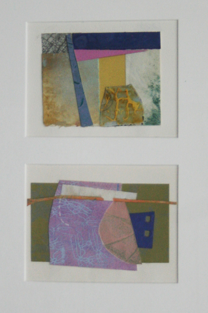 , 'Collage #76 & #79 (diptych),' , Wallace Galleries