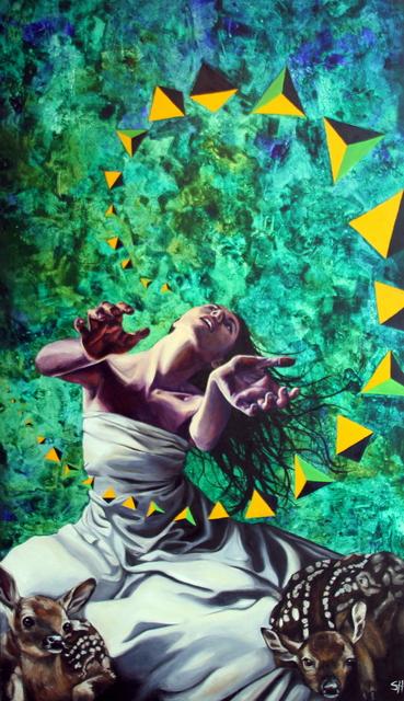 , 'Artemis Under the Bodhi Tree,' 2012, Bitfactory Gallery