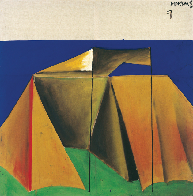 """, '""""Zelt 9 – dithyrambisch (Tent 9 – dithyrambic)"""",' 1965, Michael Werner Gallery"""