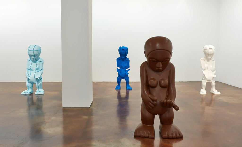 Installation view: Paul McCarthy, Cut Up and Silicone, Female Idol, WS, Kukje Gallery, Seoul. Courtesy Kukje Gallery, Seoul.