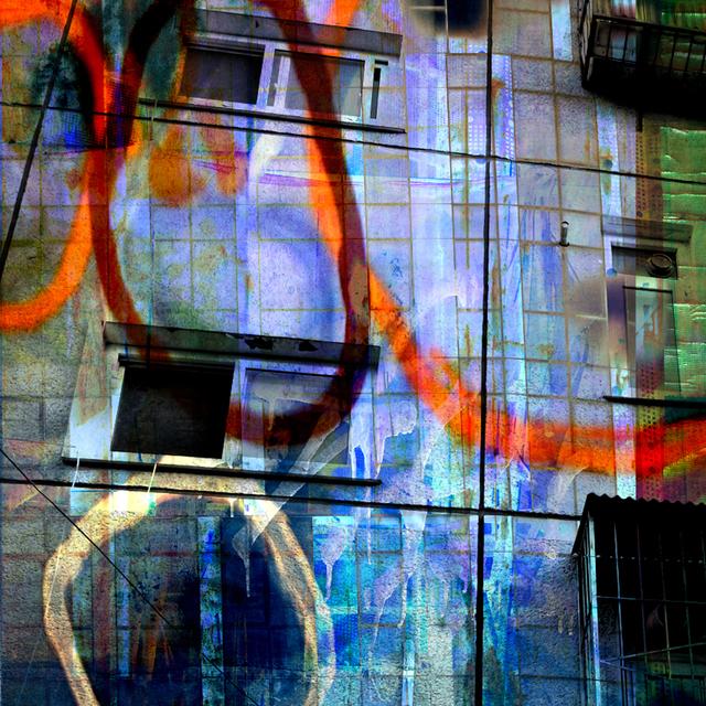 , 'Apartment Facade,' 2010, Newzones