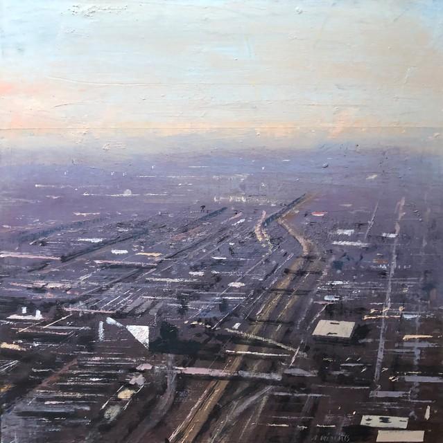, 'Vista de Chicago industrial ,' 2018, Sala Parés