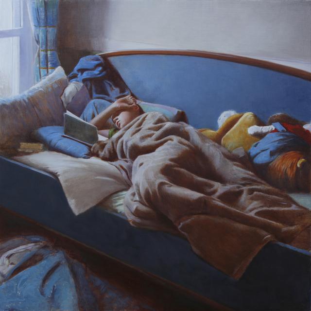 , 'Reader, Morning Light,' 2014, Stanek Gallery