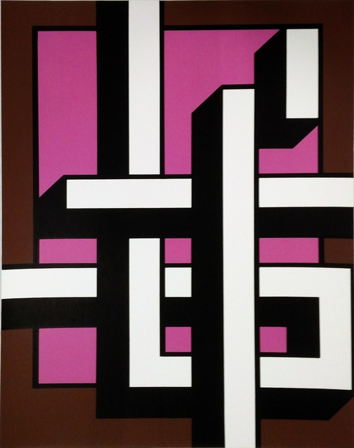 , 'Brown – pink calligraphy ,' 1981, VILTIN Gallery