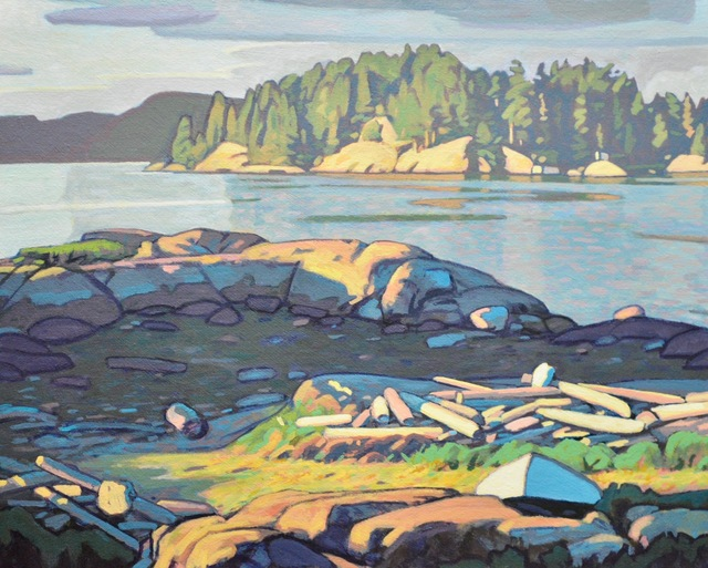 , 'Quadra Beach,' 2018, Madrona Gallery