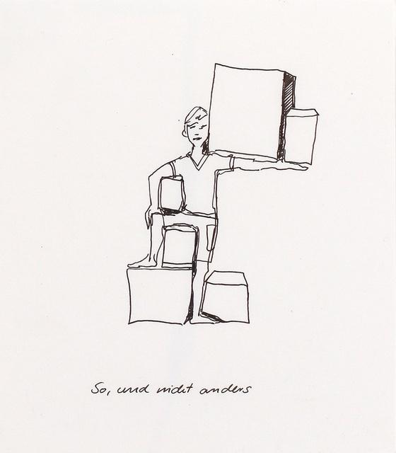 , 'So, und nicht anders (my way),' 2014, Hosfelt Gallery