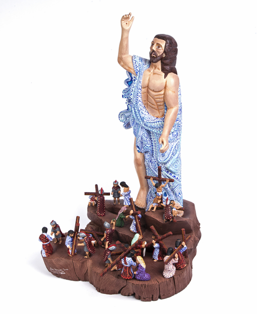 """, '""""Cristo Resucitado y Via Crucis"""",' 2017, Cactus Fine Art"""