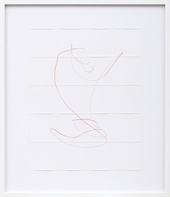 , 'Gitter Linien 2013_047,' 2013, MLF | MARIE-LAURE FLEISCH
