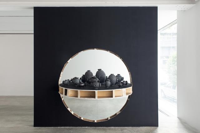 ", 'Occupation (wall) ""black"",' 2018, Friedman Benda"