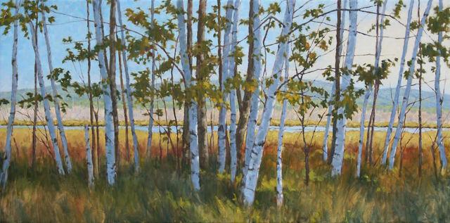 , 'Along the Wetlands,' , Water Street Gallery