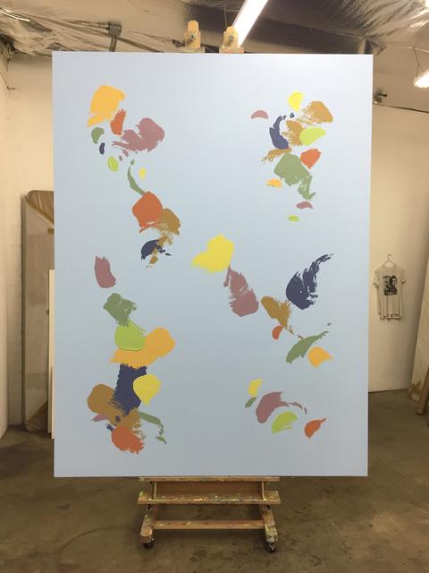 , 'Untitled Painting (WORLD MAP #4),' 2016, PRAZ-DELAVALLADE