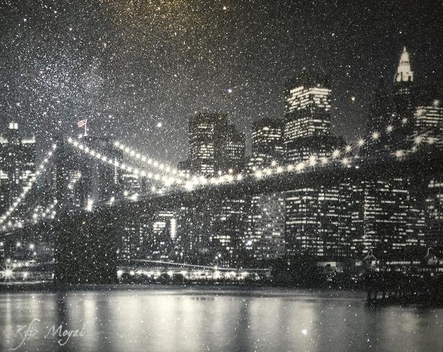 , 'NYC BRIDGE,' 2017, Eden Fine Art