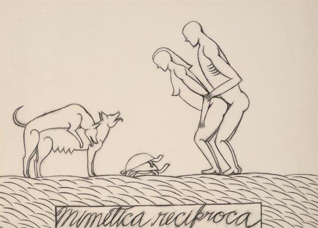 José Bedia, 'Mimética Recíproca', 1987, Heritage Auctions