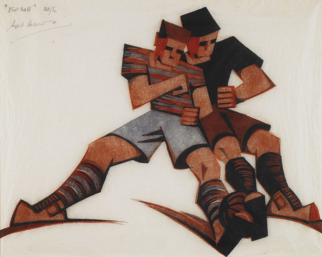 , 'Football,' 1937, Osborne Samuel