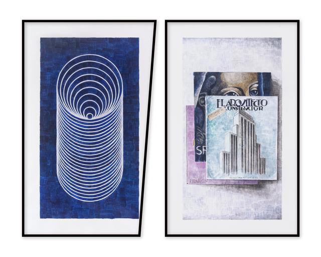 Amadeo Azar, 'El tunel - los libros ', 2019, Nora Fisch