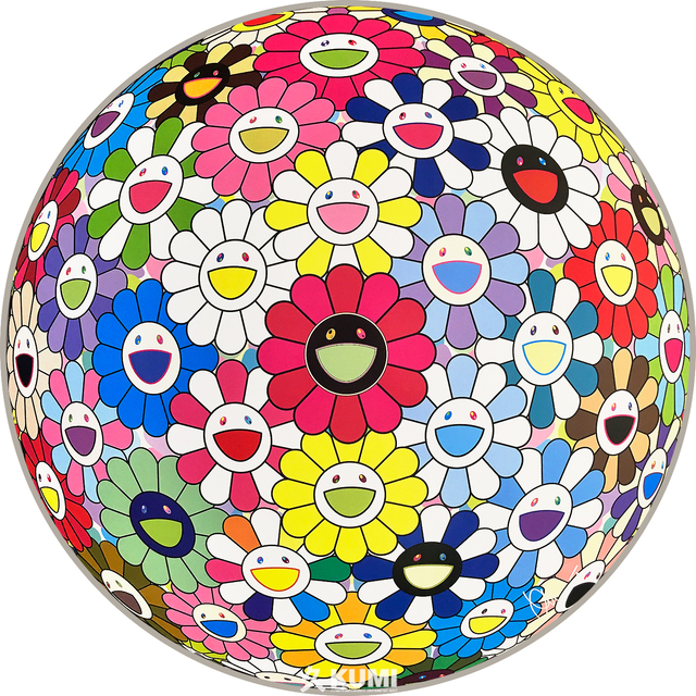 Takashi Murakami, 'Flower Ball (Hold Me Tight)', 2017, Kumi Contemporary / Verso Contemporary