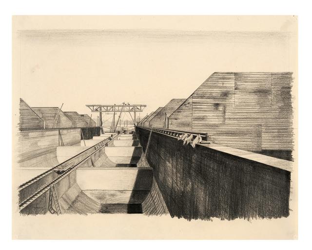 , 'Bunker / Bekohlungsanlage (BEWAG, Berlin),' 1930, Galerie Michael Hasenclever KG