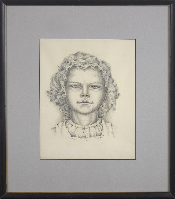 , 'Kay Kerwein, 14 May '44,' 1944, Berry Campbell Gallery