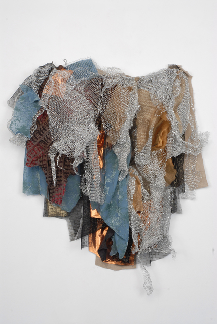 Renée Lerner, 'Silver Flow with Blue', 2010, Walter Wickiser Gallery