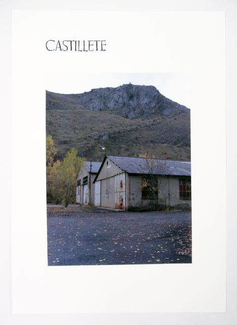 , 'Castillete. Retabalo minero (El centro en desplazamiento I),' 2010-2014, adhoc