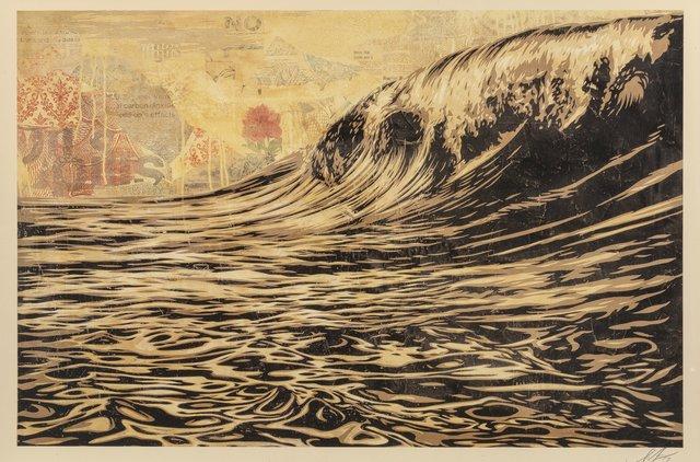 Shepard Fairey, 'Dark Wave', 2017, Heritage Auctions