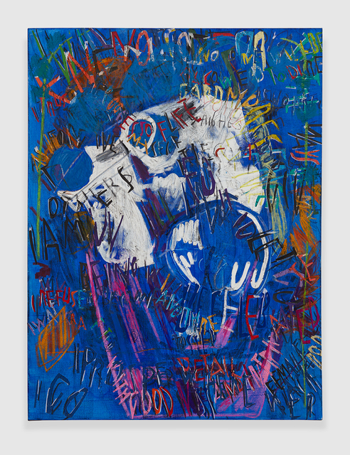 , 'RGB Affirmations (Blue),' 2018, PRAZ-DELAVALLADE