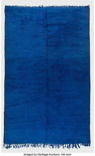Unknown Artist, 'Lapis Blue Pile Rug', Heritage Auctions