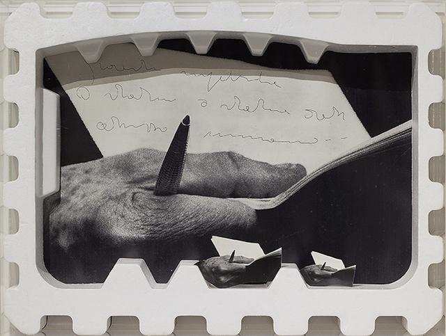 , 'Omaggio alla mano di Ungaretti,' 1973, Erica Ravenna Arte Contemporanea