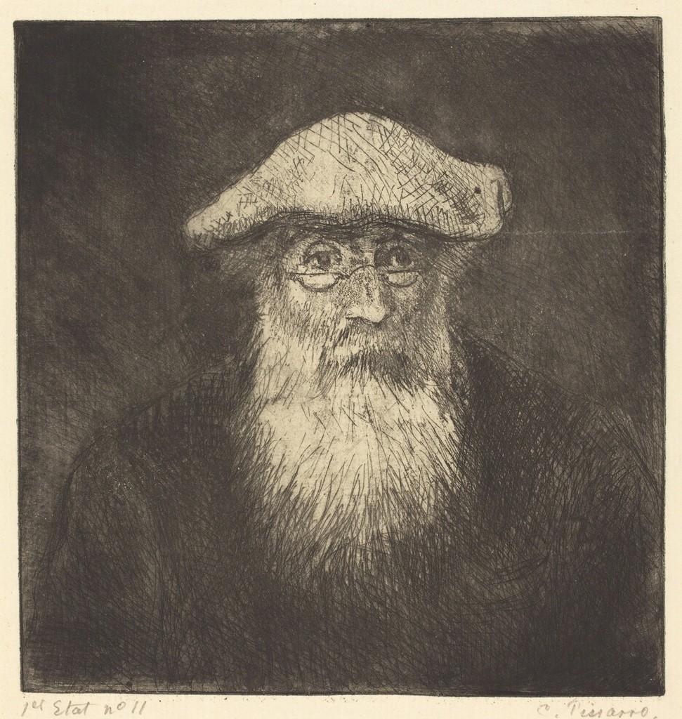 Self-Portrait (Camille Pissarro, par lui-meme)