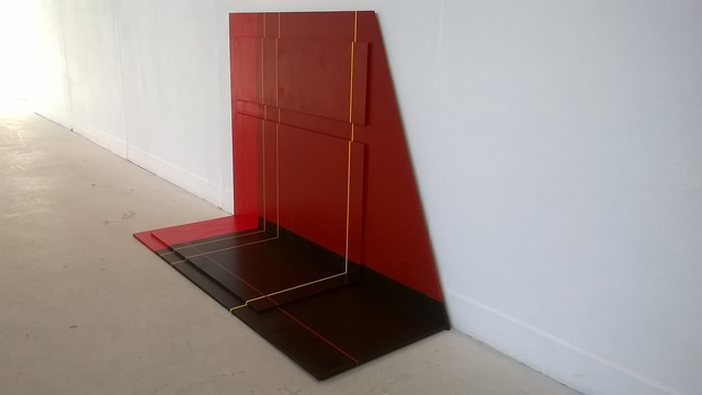 , 'Red,' , Mall Galleries