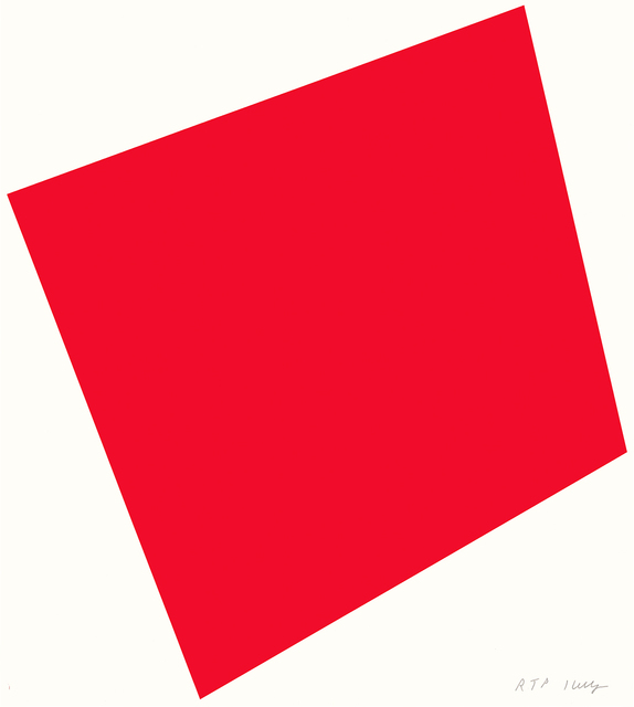 Ellsworth Kelly, 'Red', 2005, Lora Reynolds Gallery
