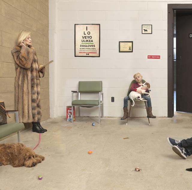 , 'Waiting Room,' 2016, Robert Mann Gallery