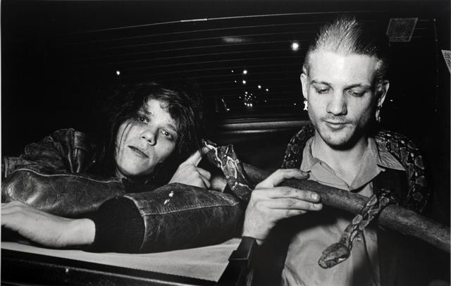 , 'Snake People, Lower East Side,' 1984, Bruce Silverstein Gallery