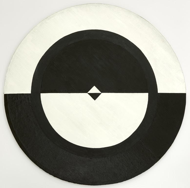 Tondo: Black and White II