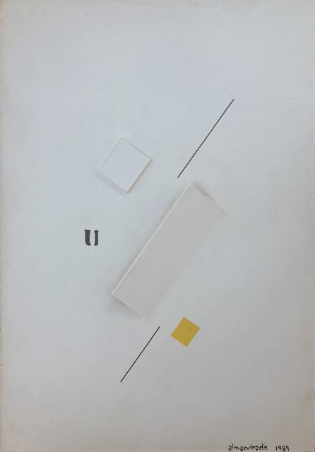 , 'Poema Objeto,' 1989, Galeria Karla Osorio