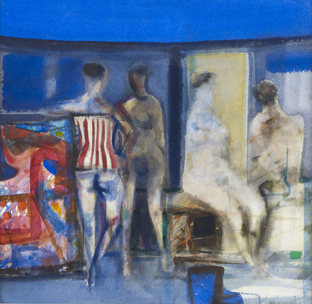, 'Talk in the Afternoon,' ca. 1970, The Scottish Gallery