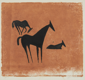 Ewald Mataré, 'Drei Pferde (Three Horses),' 1932 -1933, Phillips: Evening and Day Editions (October 2016)