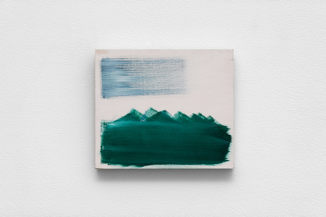 , 'White Mountain scape,' 2018, Florence Loewy
