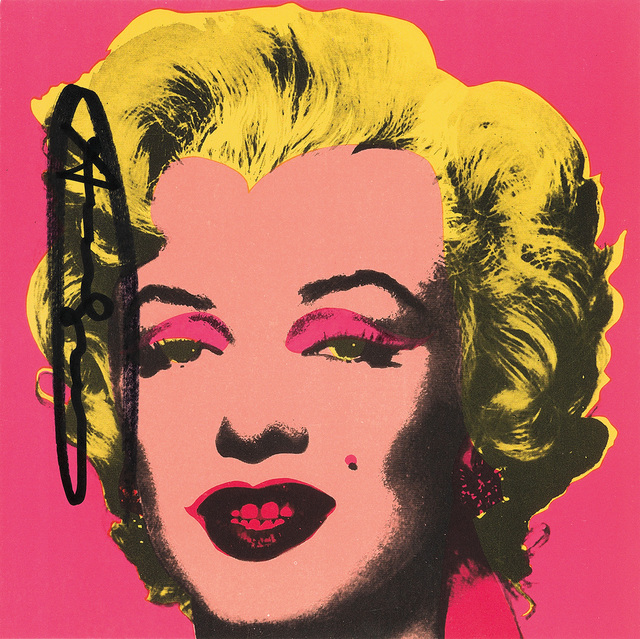 Andy Warhol, 'Marilyn (Announcement)', 1981, Swann Auction Galleries