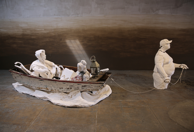 , 'Noah and His Ark,' 2018, Wilding Cran Gallery